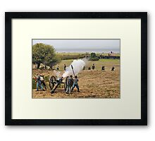 Start of the Battle Framed Print