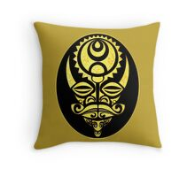 Alien Mug 1 Throw Pillow