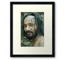 A Confidant Man Framed Print