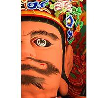 Gwangmok, King of the West - Ssangye Temple, South Korea Photographic Print