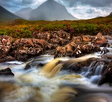 Marsco and River Sligachan, Isle of Skye, Scotland. by PhotosEcosse