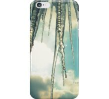 Icicles and Blue sky iPhone Case/Skin