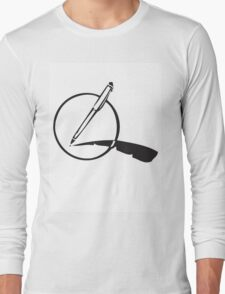 My Pen Is my Quill Long Sleeve T-Shirt