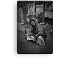 Invisible People Canvas Print