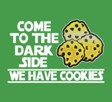 Come To The Dark Side We Have Cookies Baby Tee