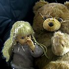 Goldie Locks And PaPa Bear by Linda Miller Gesualdo