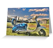 Lambretta Greeting Card