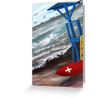 Safe shack................kj way............... Greeting Card