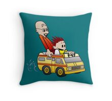 Breaking Bad Calvin And Hobbes Throw Pillow
