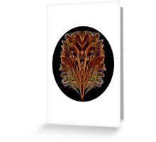 GOLDEN RICHES Greeting Card