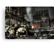 Forgoten Hardware Canvas Print