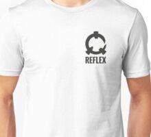 Reflex - Grey Logo + Text Unisex T-Shirt
