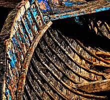 Ribs of the Boat. by Karen  Betts