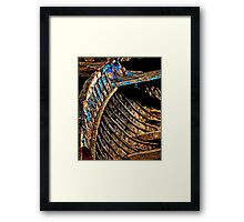 Ribs of the Boat. Framed Print