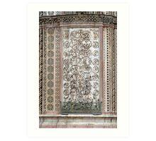 Orvieto - Dome - Sermons  of Stone Art Print