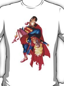 Superman And Supergirl T-Shirt