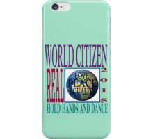 Citizen of the World  iPhone Case/Skin