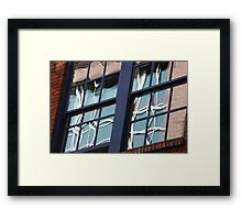 Window Quest Framed Print