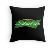 Budmeister Throw Pillow