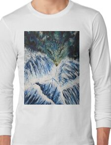 Lighthouse in the Storm Long Sleeve T-Shirt