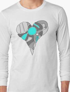 Heart of a Robot Long Sleeve T-Shirt