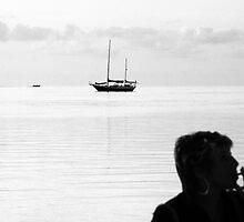 Smoke on the Water by Gene  Tewksbury