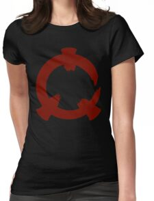 Reflex - Red Logo Womens Fitted T-Shirt