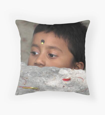 The begining of a life - 1 Throw Pillow