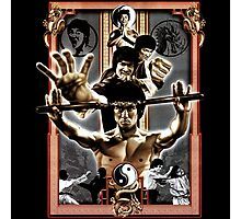 Bruce Lee Enter The Dragons Photographic Print