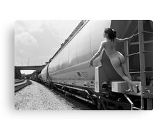 curves on track Canvas Print