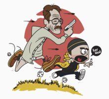 Breaking Bad Calvin And Hobbes Kids Tee