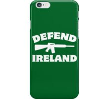 Defend Ireland iPhone Case/Skin