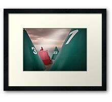 Boy's buoys Framed Print