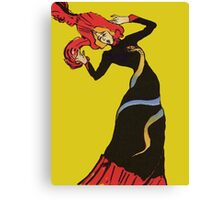 Jane Avril After Henri de Toulouse-Lautrec Canvas Print