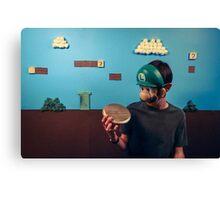 Luigi Homemade Canvas Print