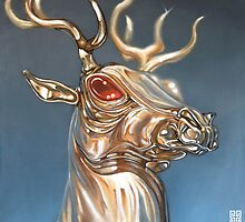Golden Deer by Brien  White