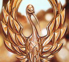 Golden Crane by Brien  White
