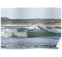 In amongst the waves Poster