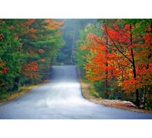 Scenic Road By Zephyr Lake Photographic Print