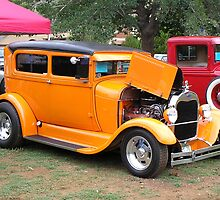 1930's FORD Model A by Ann  Warrenton