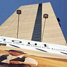Skyscaper and Billboard by Gene  Tewksbury