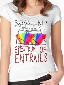 Spectrum of Entrails Women's Fitted Scoop T-Shirt