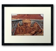 Navajo Bridge(s) Framed Print