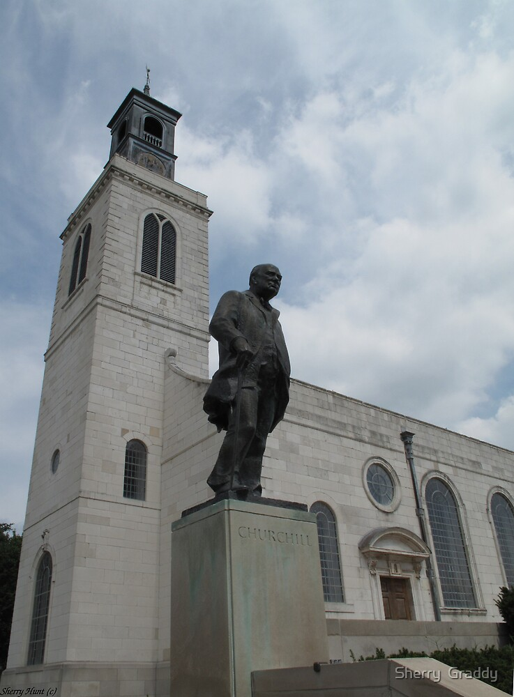 The Church and Churchill by Sherry  Graddy