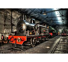 No 3 Twizell Steam Engine Photographic Print