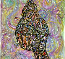 Mosaic Bird by Bootsieskittys