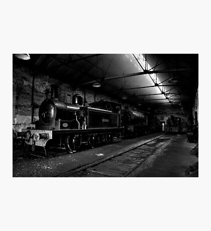 Marley Hill Engine Shed Photographic Print