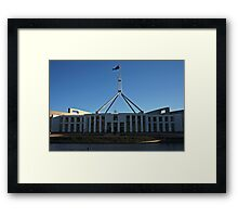 Parliament House  Framed Print