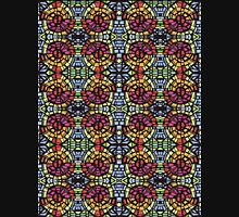 Stained Glass  Womens Fitted T-Shirt