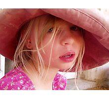 Floppy Hat Photographic Print